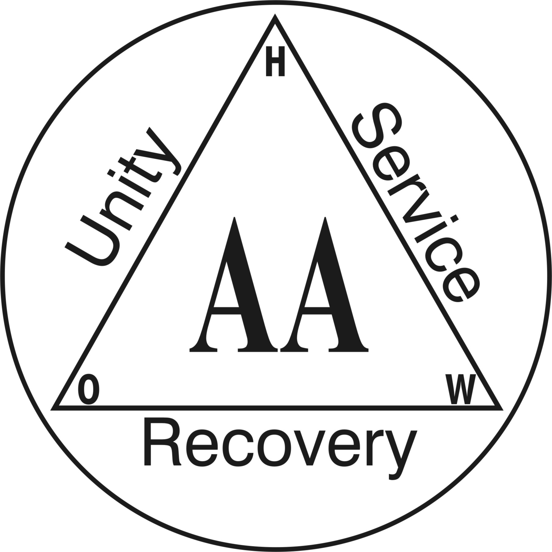alcoholics anonymous logo download
